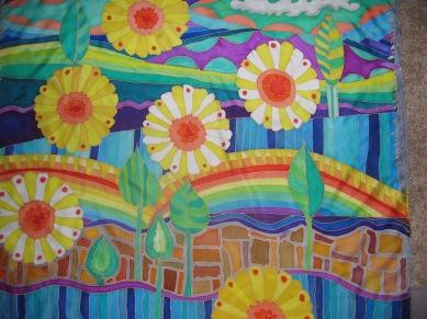70's Flowers 35x35