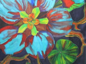 Fantasy Flowers 35x35