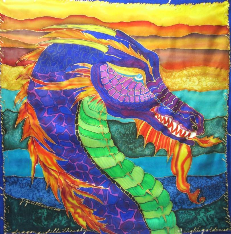 Fire Dragon 35 x 25'