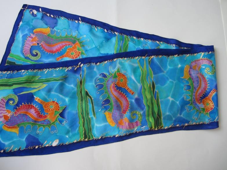 Fancy Seahorses 11x60