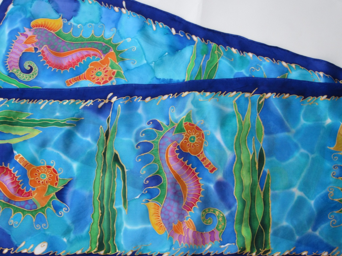 Fancy Seahorses 11x60
