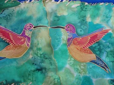 Fanciful Hummingbirds 11x60