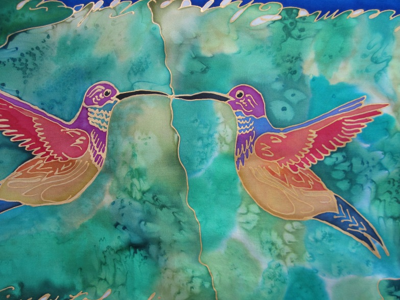 Fanciful Hummingbirds 11x60