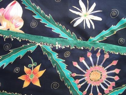 Dark flowers 8x72